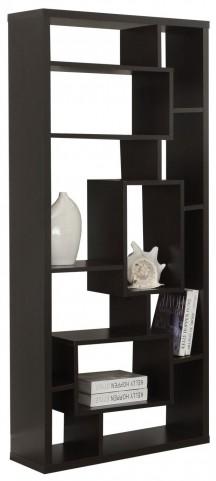 """Cappuccino Hollow-Core 72"""" Bookcase"""