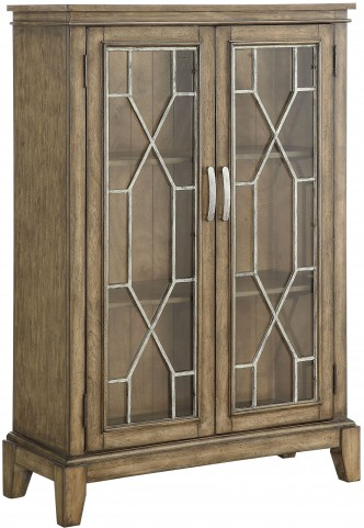 Kire Burnished Parchment 2 Door Cabinet