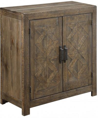 Vail Rustic Brown 2 Door Cabinet