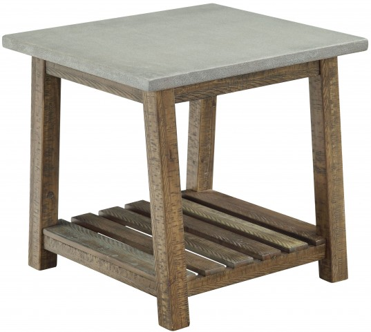 Santa Fe Brown End Table