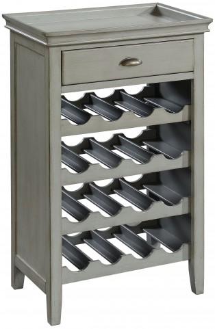 Madrillon Burnished Grey 1 Drawer Wine Server