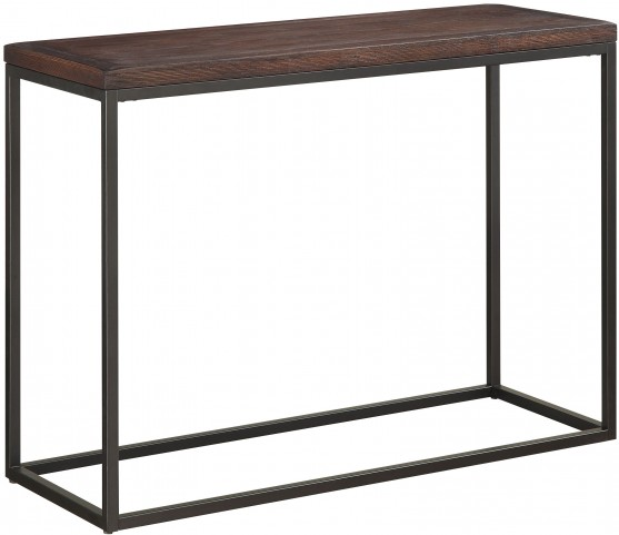Textured Metallic Sofa / Console Table