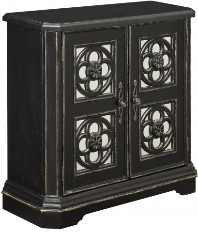 Marlbrook Black 2 Door Cabinet