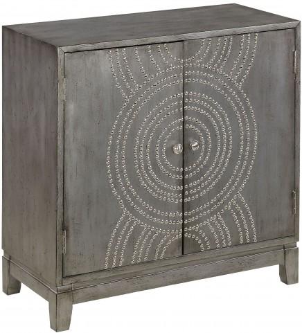 Medlock Metallic Grey 2 Door Cabinet