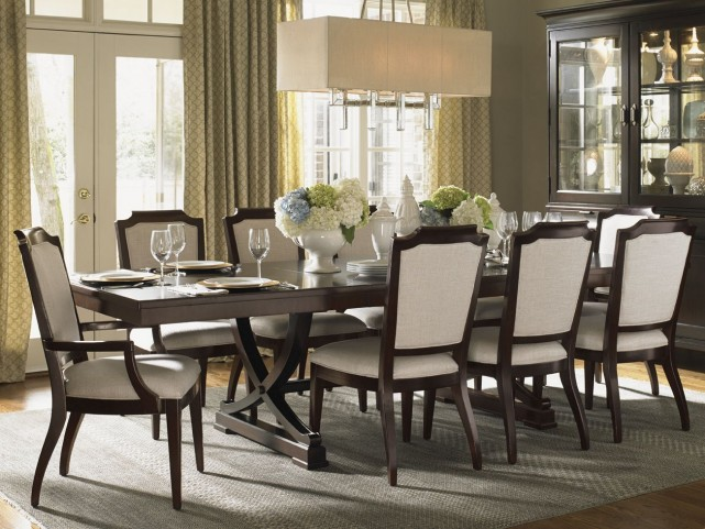 Kensington Place Westwood Extendable Rectangular Dining Room Set