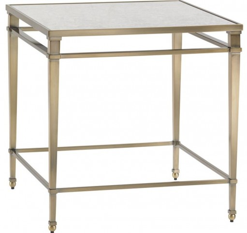 Kensington Place Maxfield Metal Lamp Table