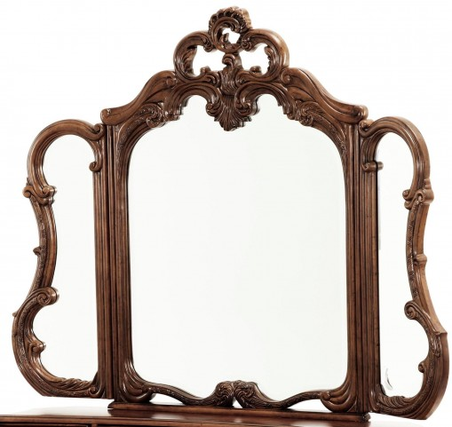 Palais Royale Trifold Vanity Mirror