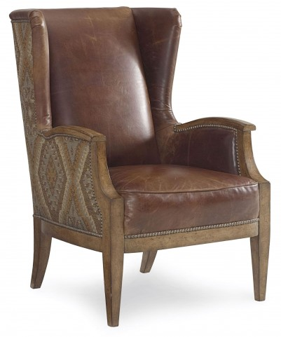 The Foundry Upholstered Hollis Wing Chair