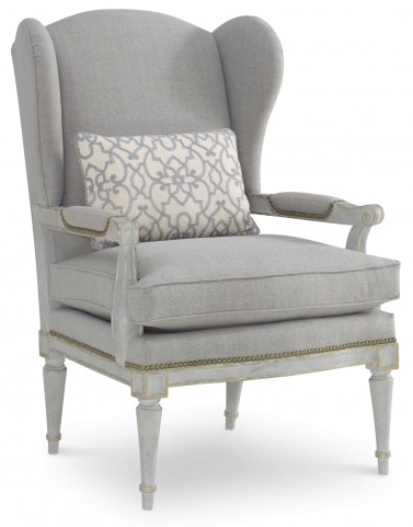 The Foundry Upholstered Parisian Wing Chair