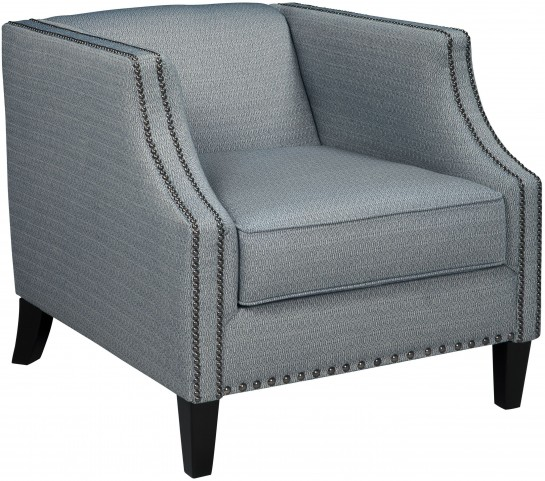 LaVernia Navy Accent Chair