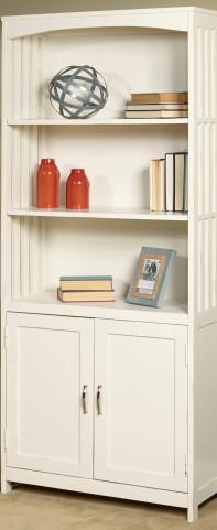 Hampton Bay White Door Bookcase