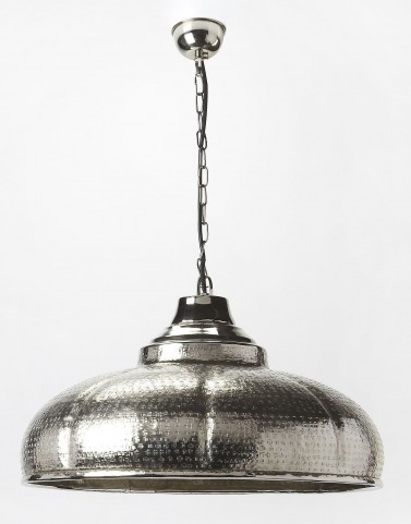 "Hors D'Oeuvres 22"" Dia Nickel Light Pendant"