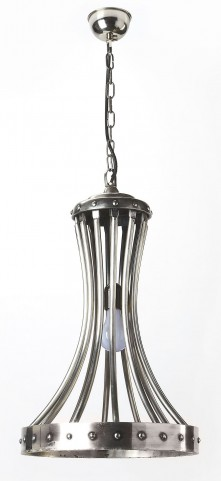 Hors D'Oeuvres Antique Silver Light Pendant