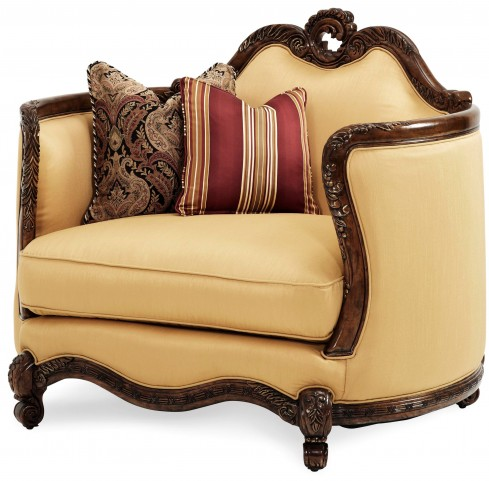 Palais Royale Wood Trim Chair and 1/2