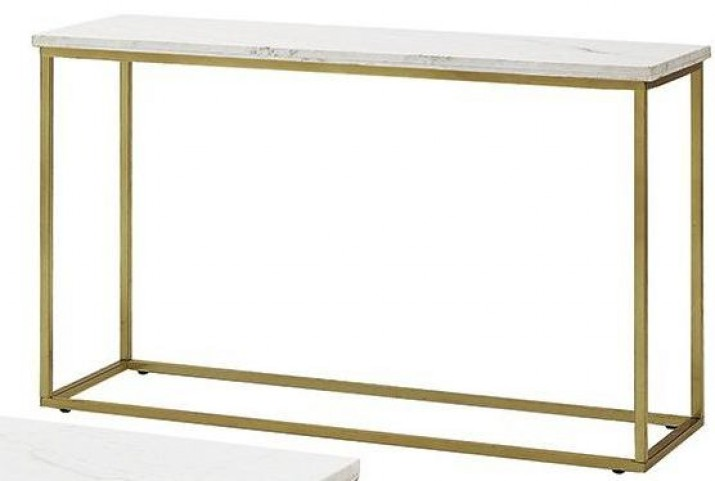 Isabelle Marble Top Sofa Table