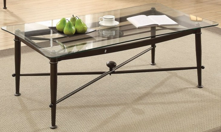 Antique Bronze Coffee Table