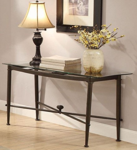 Antique Bronze Sofa Table