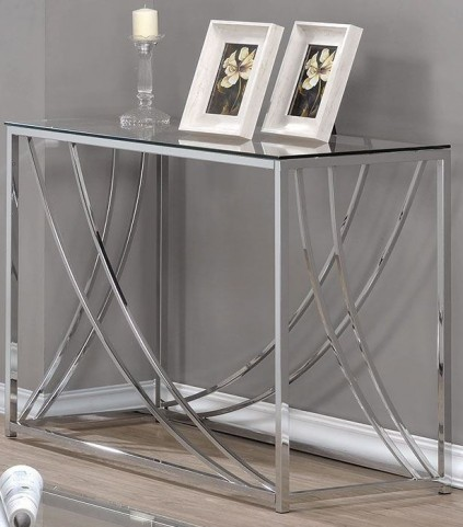 Chrome Sofa Table