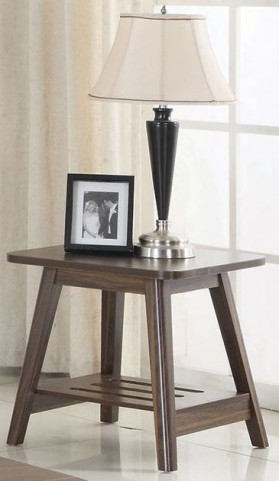 Chestnut End Table