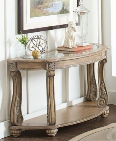 Trivellato Antique Linen Sofa Table