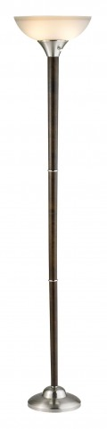 Alta Walnut Floor Lamp