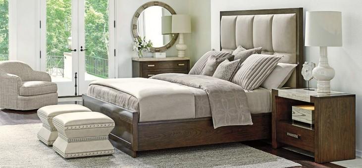 Laurel Canyon Casa del Mar Warm Mocha Panel Bedroom Set