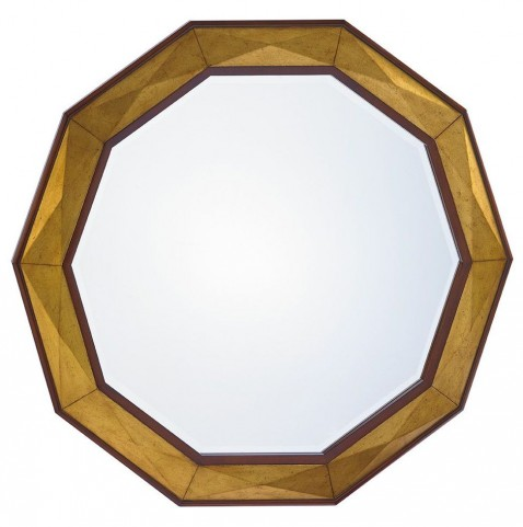 Take Five Savoy Round Mirror