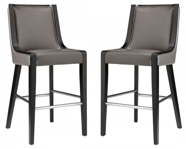 Newport Grey Barstool Set of 2