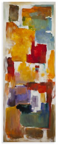 Colorful Blocks Unframed Wall Art