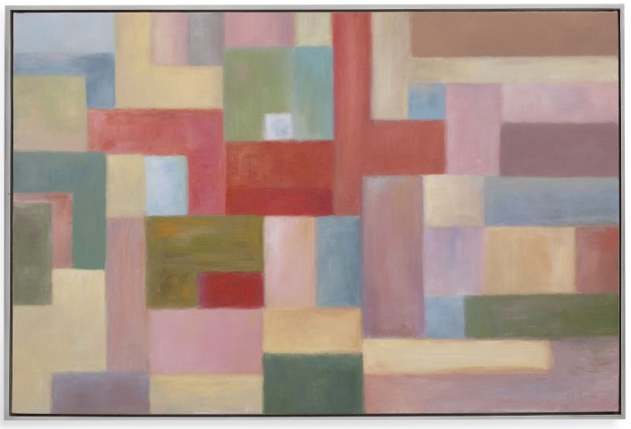 Pastel Blocks Wall Art