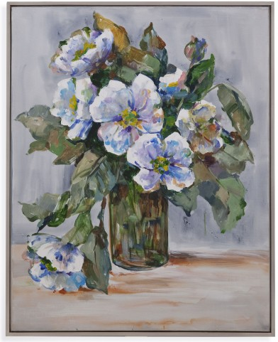 Elegant Flowers Wall Art