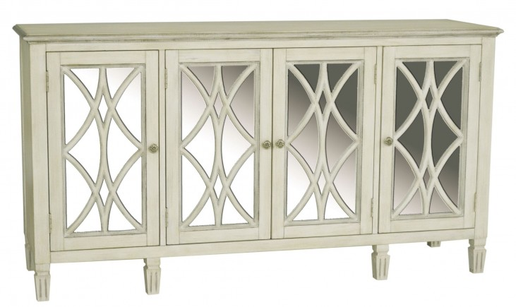 White Florence Console