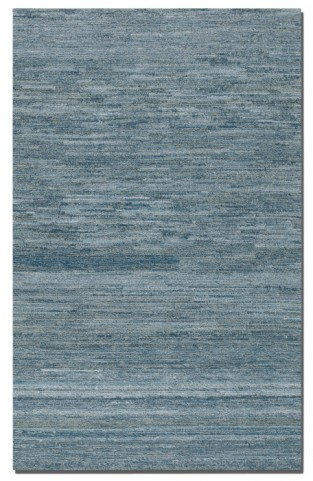 Genoa 9 X 12 Rescued Denim & Wool Rug