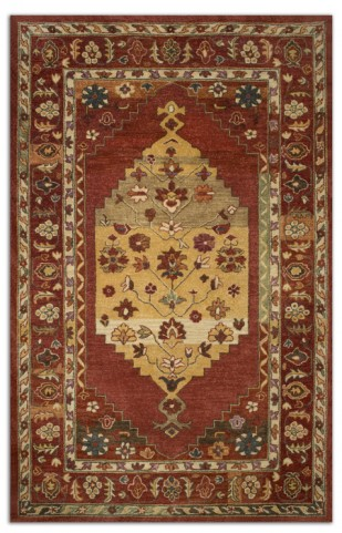 Estelle Red Small Rug