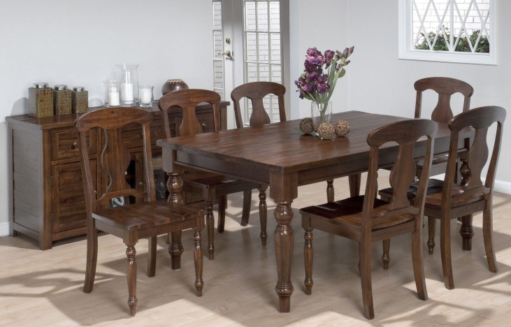 Urban Lodge Fixed Top Dining Room Set