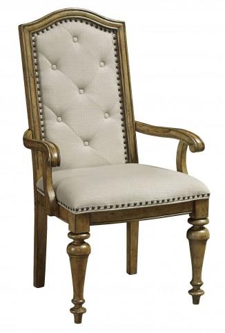 Stratton Medium Wood Arm Chair Set of 2