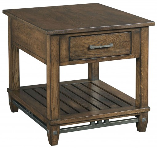 Bedford Park Rectangular Drawer End Table