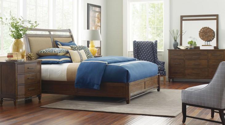 Bedford Park Sleigh Bedroom Set