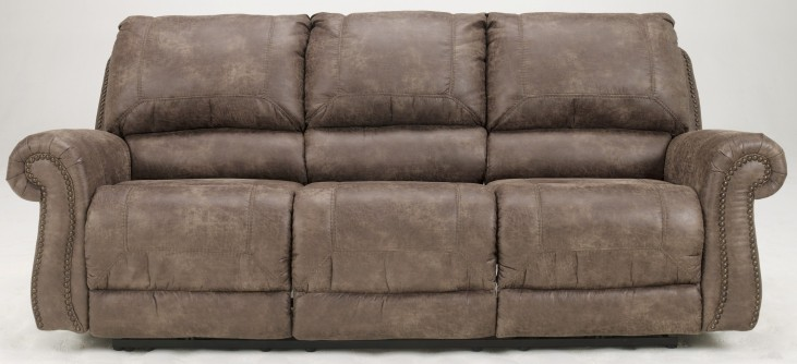 Oberson Gunsmoke Power Reclining Sofa