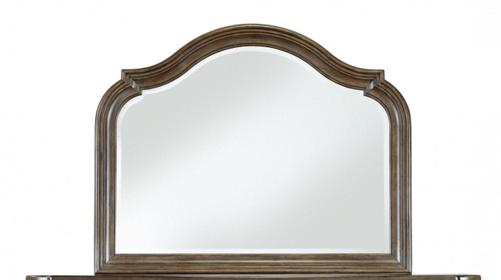 Aurora Medium Wood Mirror