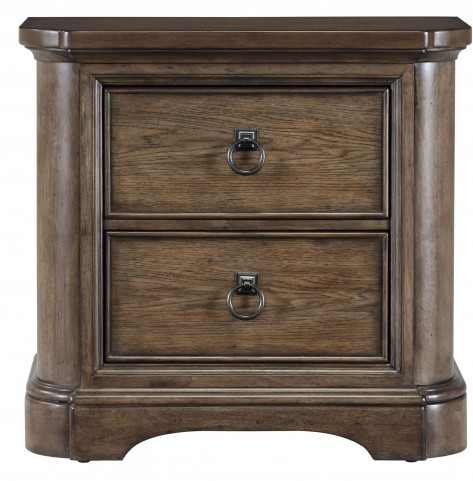 Aurora Medium Wood Nightstand