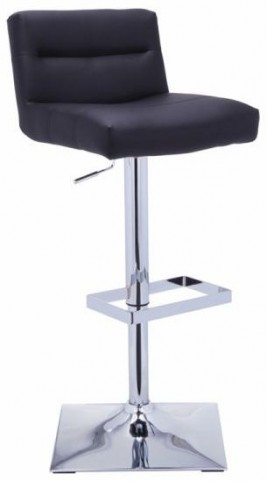 Stafford Black Adjustable Barstool