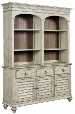 Weatherford Cornsilk Hastings Open Buffet with Hutch