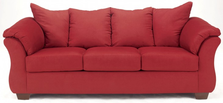 Darcy Red Salsa Sofa