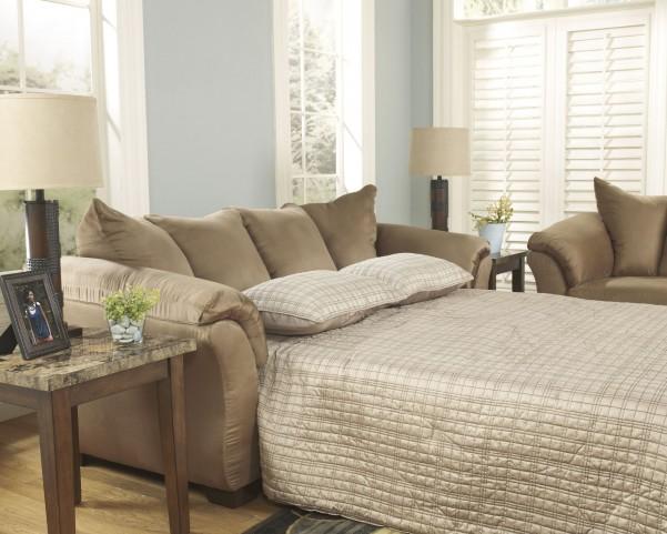 Darcy Mocha Full Sofa Chaise Sleeper