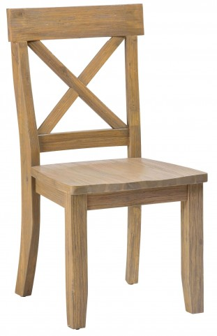 Boulder Ridge X Back Side Chair Set of 2