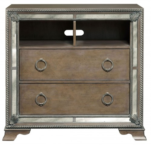 Karissa Light Wood Media Chest