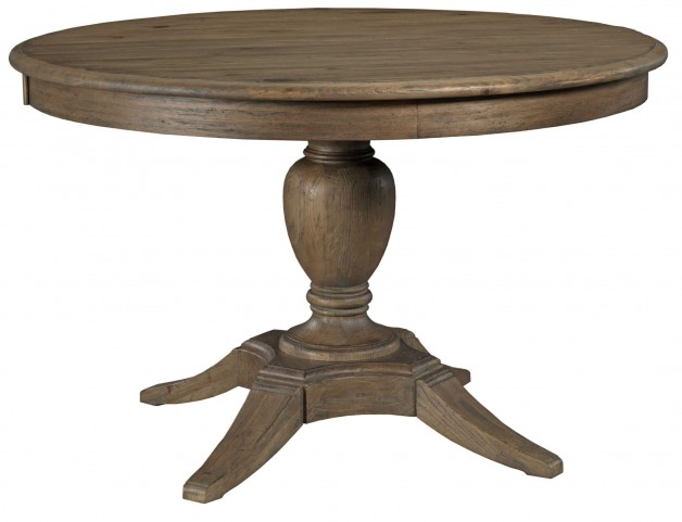 Weatherford Heather Milford Extendable Round Dining Table