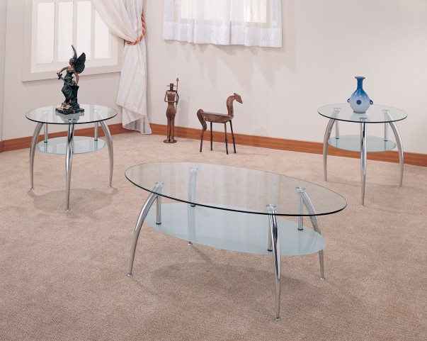 3 Piece Occasional Table Set - 7635
