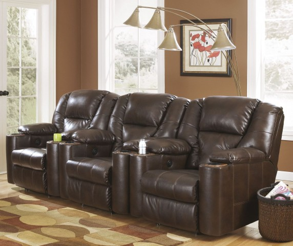 Paramount DuraBlend Brindle Home Theater Seating